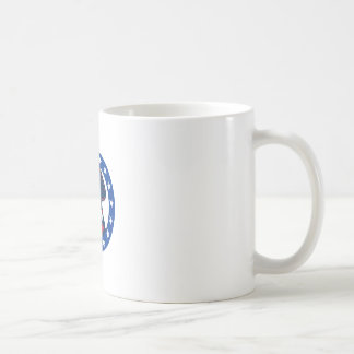 american patriot minuteman stars retro coffee mug