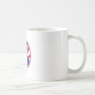 American Patriot Minuteman Stars Stripes Flag Coffee Mug