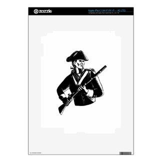American Patriot Scratchboard iPad 3 Skins