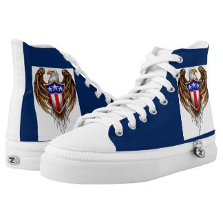 american patriot shoes printed shoes