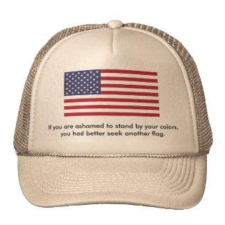 American Patriot Trucker's Hat