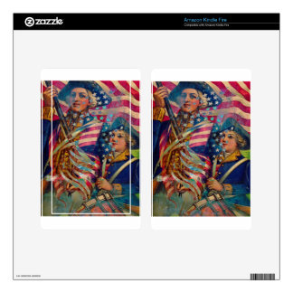 AMERICAN PATRIOT ~ UNAPOLOGETIC SKINS FOR KINDLE FIRE