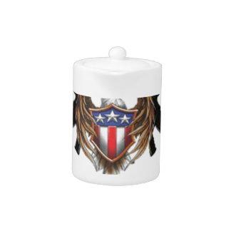 American Patriot Ventures - Buy Guns Teapot