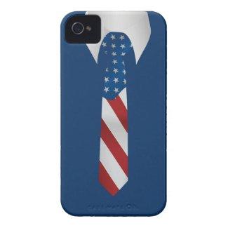 American Patriotic Business Tie iPhone 4 Case