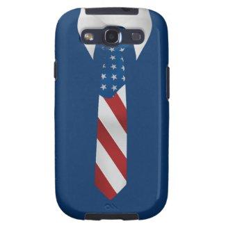 American Patriotic Business Tie Samsung S3 Samsung Galaxy S3 Case