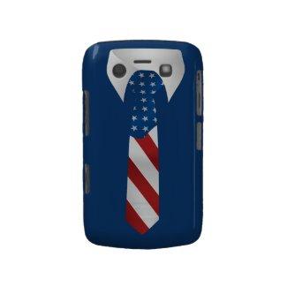 American Patriotic Businessman Blackberry Case
