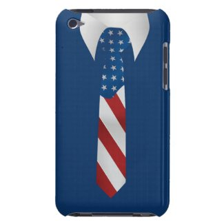American Patriotic Businessman iPod Touch Case