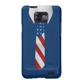 American Patriotic Businessman Samsung S2 Samsung Galaxy SII Cover