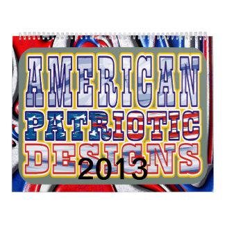 American Patriotic Designs Wall Calendars