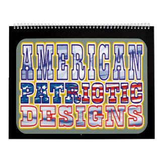 American Patriotic Designs Calendar