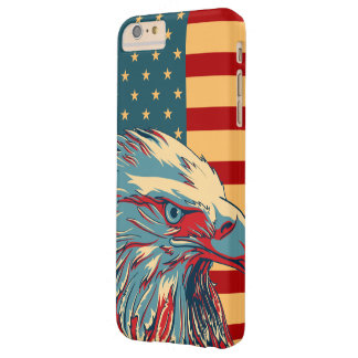 American Patriotic Eagle Flag Barely There iPhone 6 Plus Case