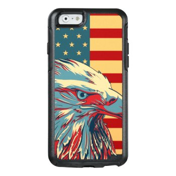 American Patriotic Eagle Flag Otterbox Iphone 6/6s Case by zlatkocro at Zazzle