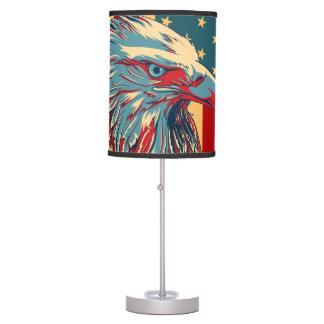 American Patriotic Eagle Flag Table Lamp