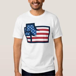 American Patriotic Fist T-shirt
