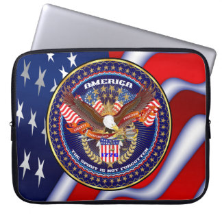 American Patriotic  Important View notes please Computer Sleeves