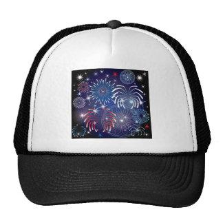 American Patriotic July 4th Trucker Hat