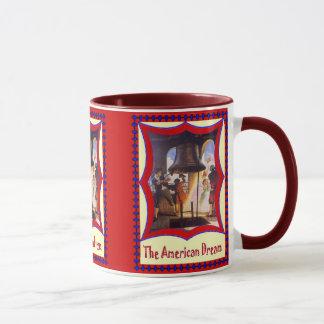 American patriotic, Liberty bell Mug