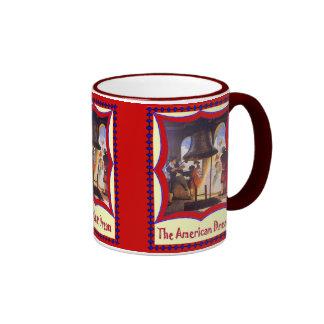 American patriotic, Liberty bell Ringer Mug