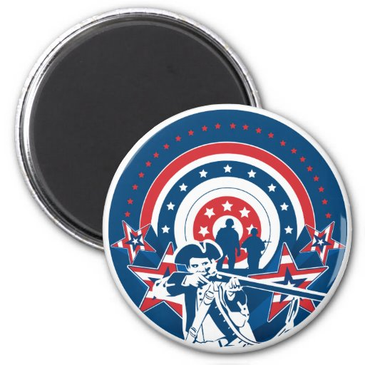 American Patriotic Magnet