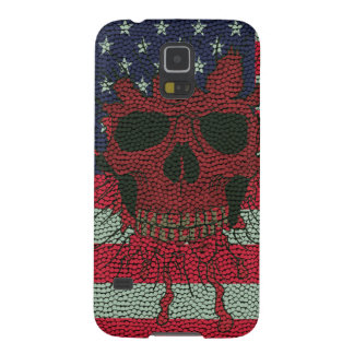 American Patriotic Skull Basketball Ball Skin Styl Cases For Galaxy S5