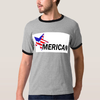 American patriotic t-shirt retro