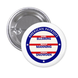 American Patriots Pinback Buttons