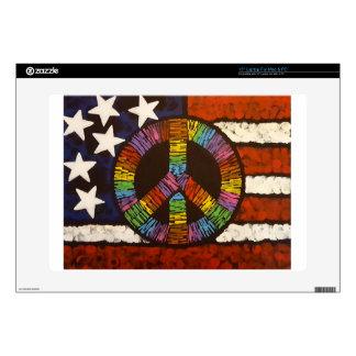 "American Peace 15"" Laptop Skins"