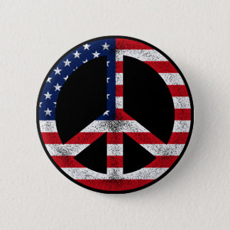 American Peace Button
