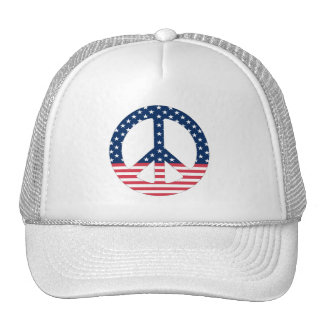 American Peace Sign Hat