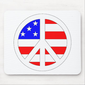 American Peace Sign Products! Mouse Pad