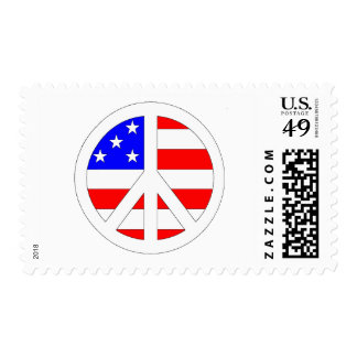 American Peace Sign Products! Postage Stamps