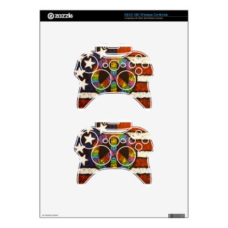 American Peace Xbox 360 Controller Decal