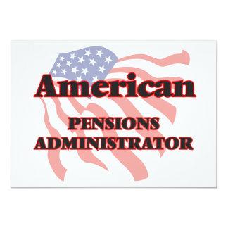 American Pensions Administrator 5x7 Paper Invitation Card