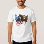 american pharaoh  horse racing design t-shirts