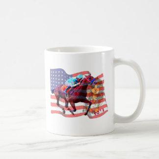 American Pharoah 2015 Classic White Coffee Mug