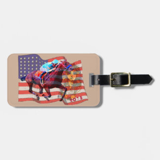 American Pharoah 2015 Luggage Tag