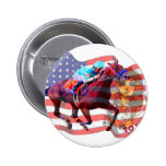 American Pharoah 2015 Pinback Button