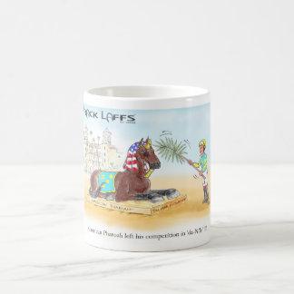 American Pharoah Del Mar Futurity Classic White Coffee Mug