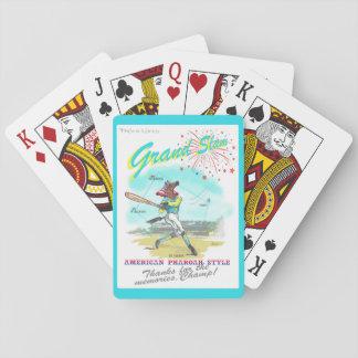 American Pharoah Grand Slam Tribute Card Decks