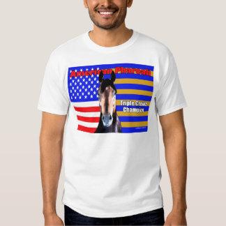 American Pharoah Portrait Tee Shirt
