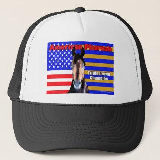 American Pharoah Portrait Trucker Hat
