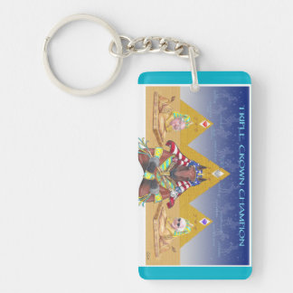 American Pharoah Triple Crown Champion Keychain