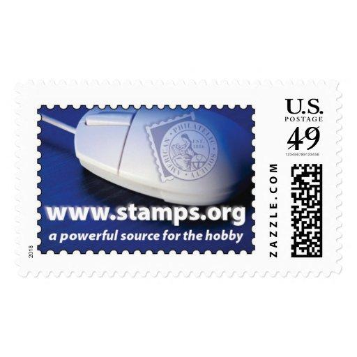 American Philatelic Society Postage Stamp