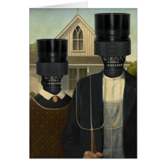 American Photographic Err Gothic Greeting Cards