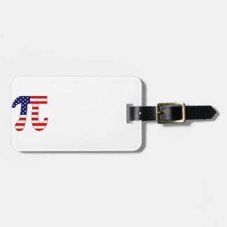 American Pi Luggage Tags