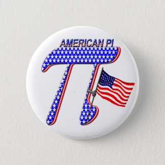 AMERICAN PI (PIE) - MATH HUMOR BUTTON