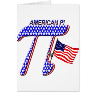 AMERICAN PI (PIE) - MATH HUMOR CARD