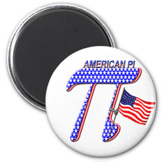 AMERICAN PI (PIE) - MATH HUMOR FRIDGE MAGNET