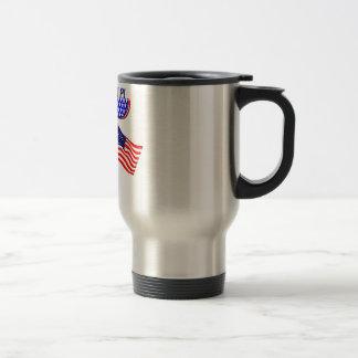 AMERICAN PI (PIE) - MATH HUMOR COFFEE MUGS