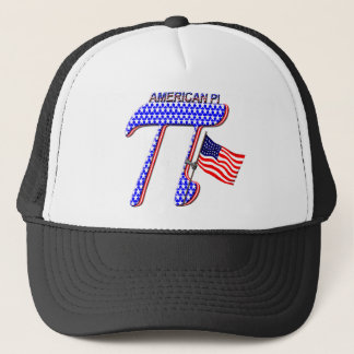 AMERICAN PI (PIE) - MATH HUMOR TRUCKER HAT
